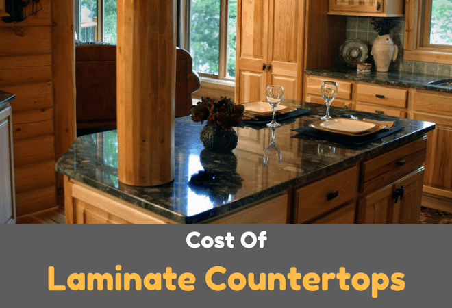 average cost of laminate countertops